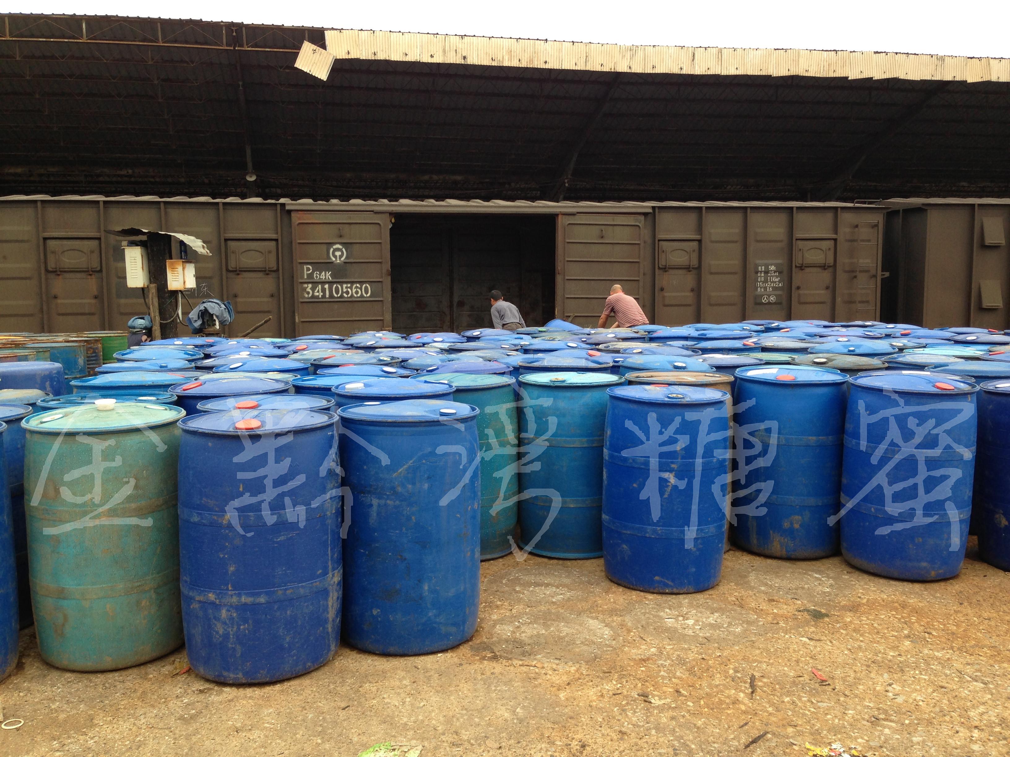 >二手200升塑料桶(约装300公斤)